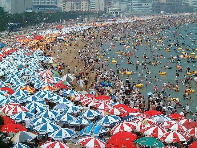 На пляжах Кореи