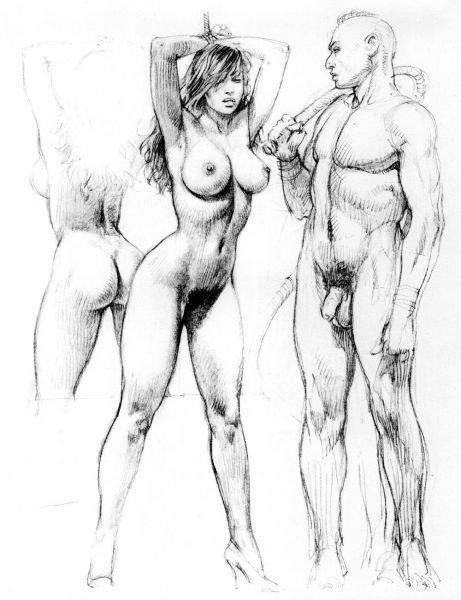 порнография рисованная