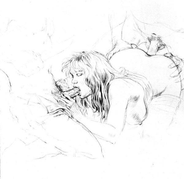 Порно картины рисунки