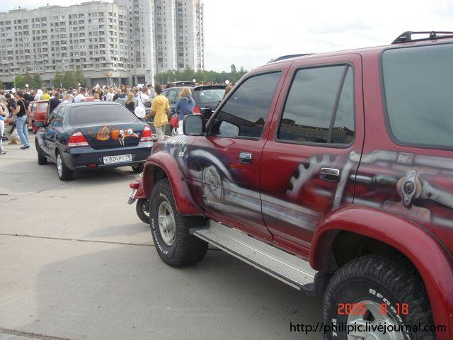 2005 世界汽车喷绘展