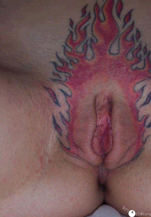 Татуировки на письке для девушек фото